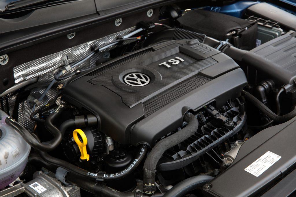 TDI Engine on the 2015 Golf SportWagen