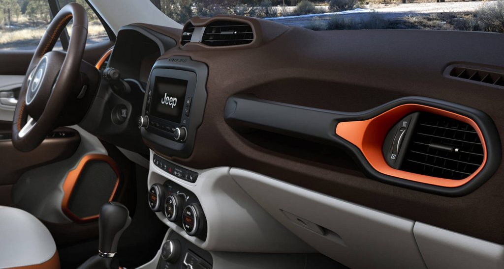 2015 Jeep Renegade Interior View