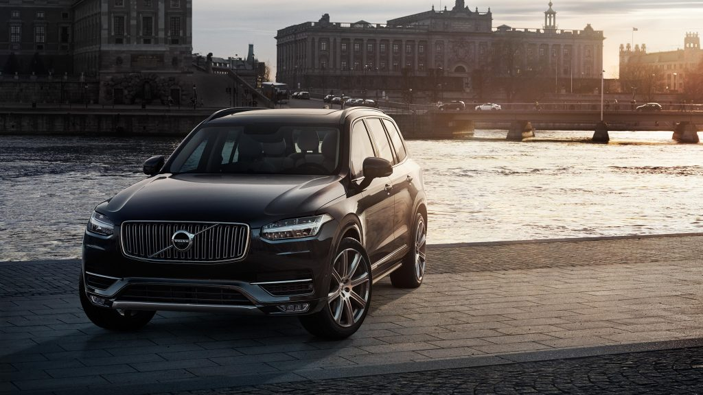 Front View of the 2016 Volvo XC90 Exterior