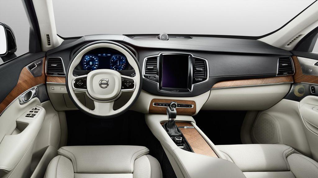 Luxurious Interior of the 2016 Volvo XC90