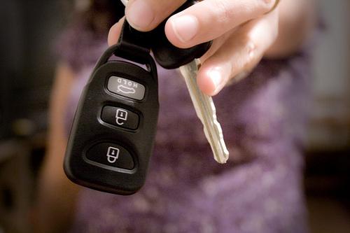 keys to car
