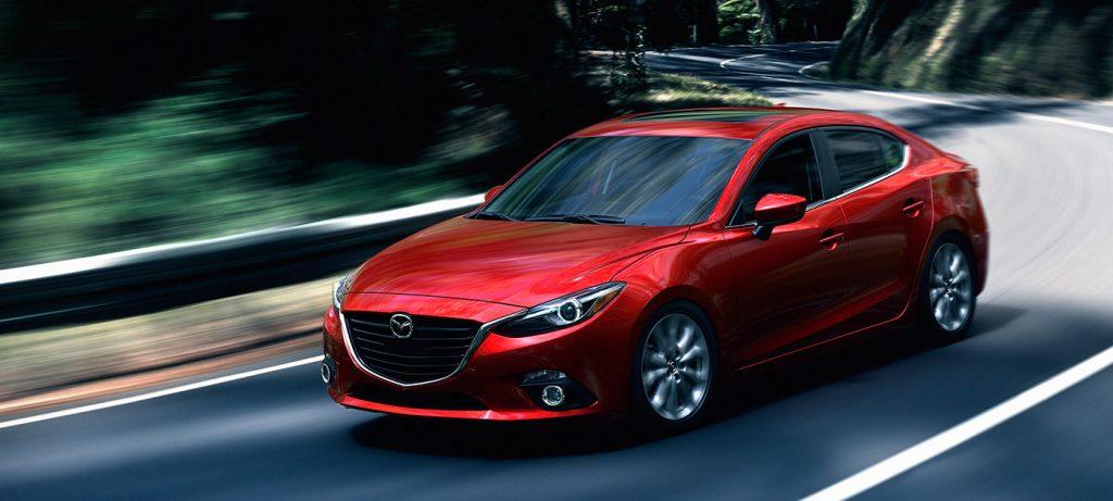 2016 Mazda Mazda3 In Red