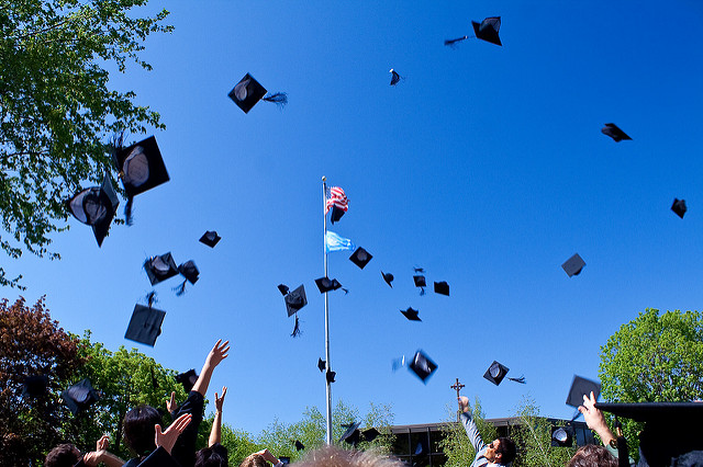 Recent Graduates Celebrate