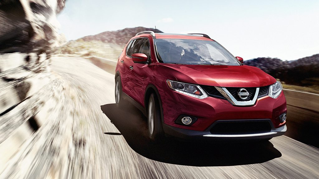 2016 Nissan Rogue In Red