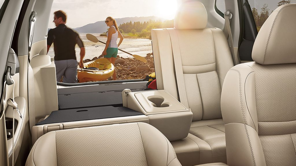 2016 Nissan Rogue Seating Space