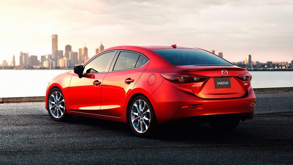 2016 Mazda3 Exterior in Red