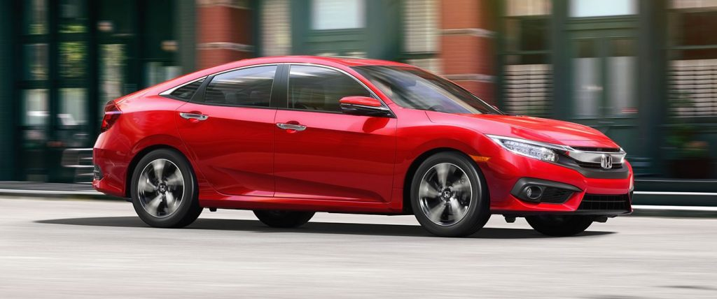 New Honda Civic Exterior in Red