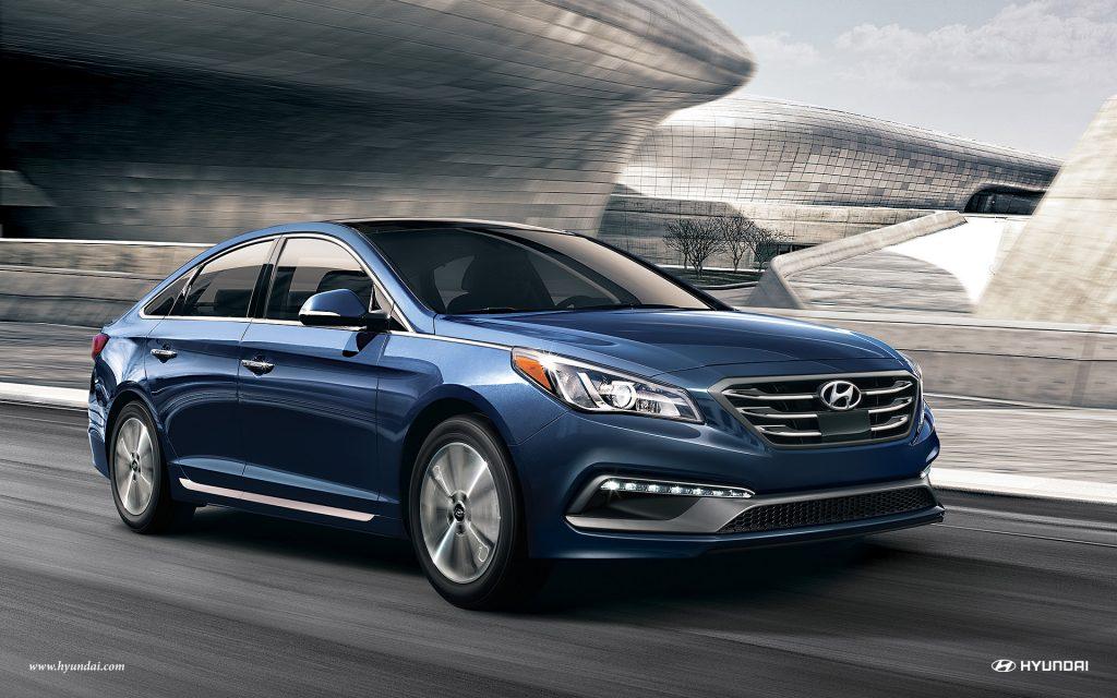 New Hyundai Sonata Exterior in Blue