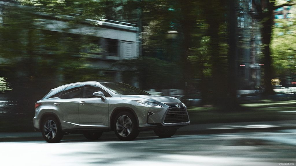 New Lexus RX 350 Exterior in Silver