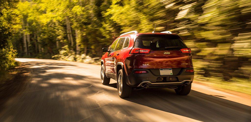 2017 Jeep Cherokee Spring Road Trip