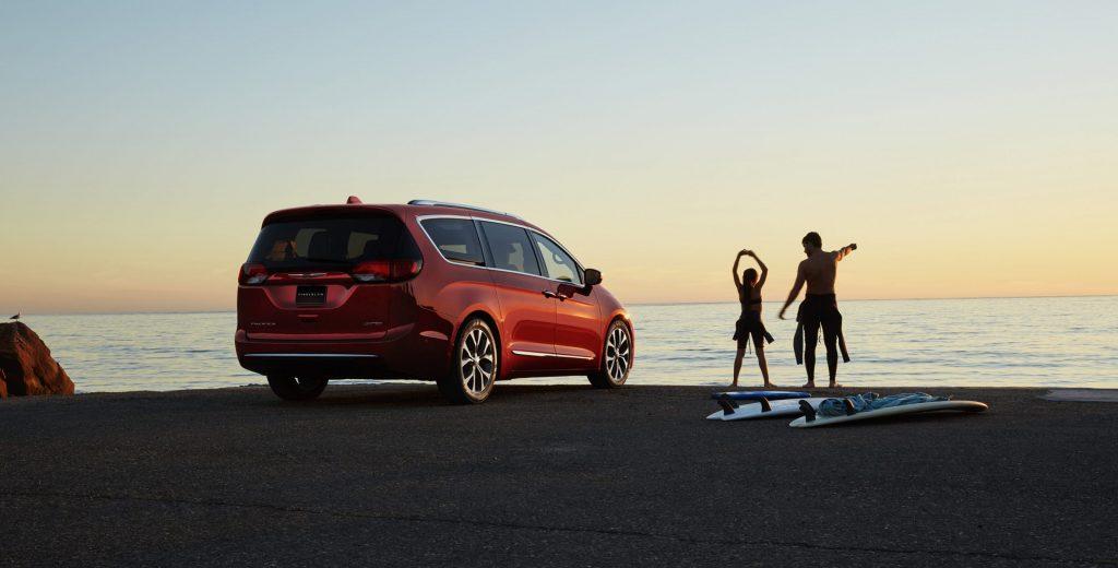 2017 Chrysler Pacifica Rear Exterior
