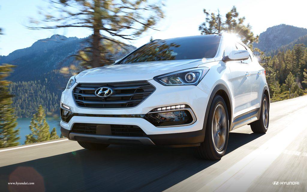 2017 Hyundai Santa Fe Sport Front Exterior