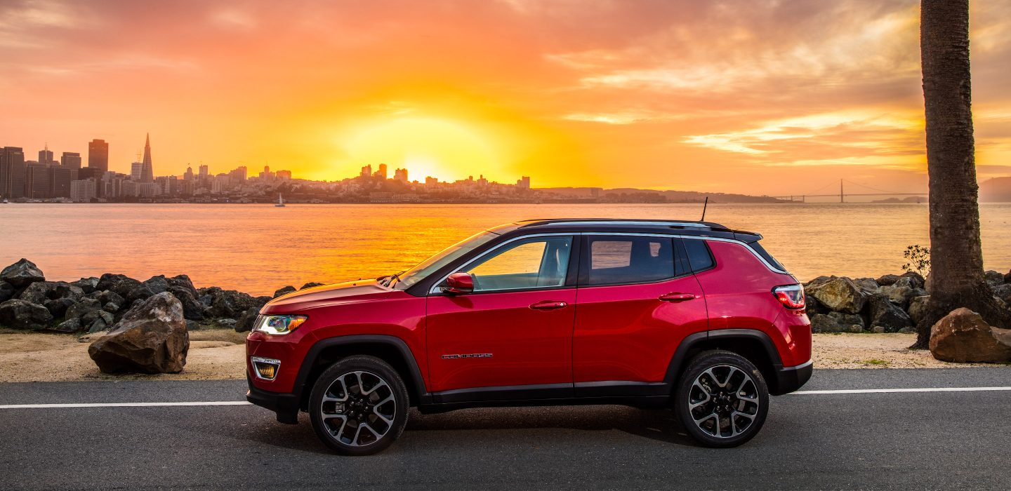 2018 Jeep Compass Side Red Exterior