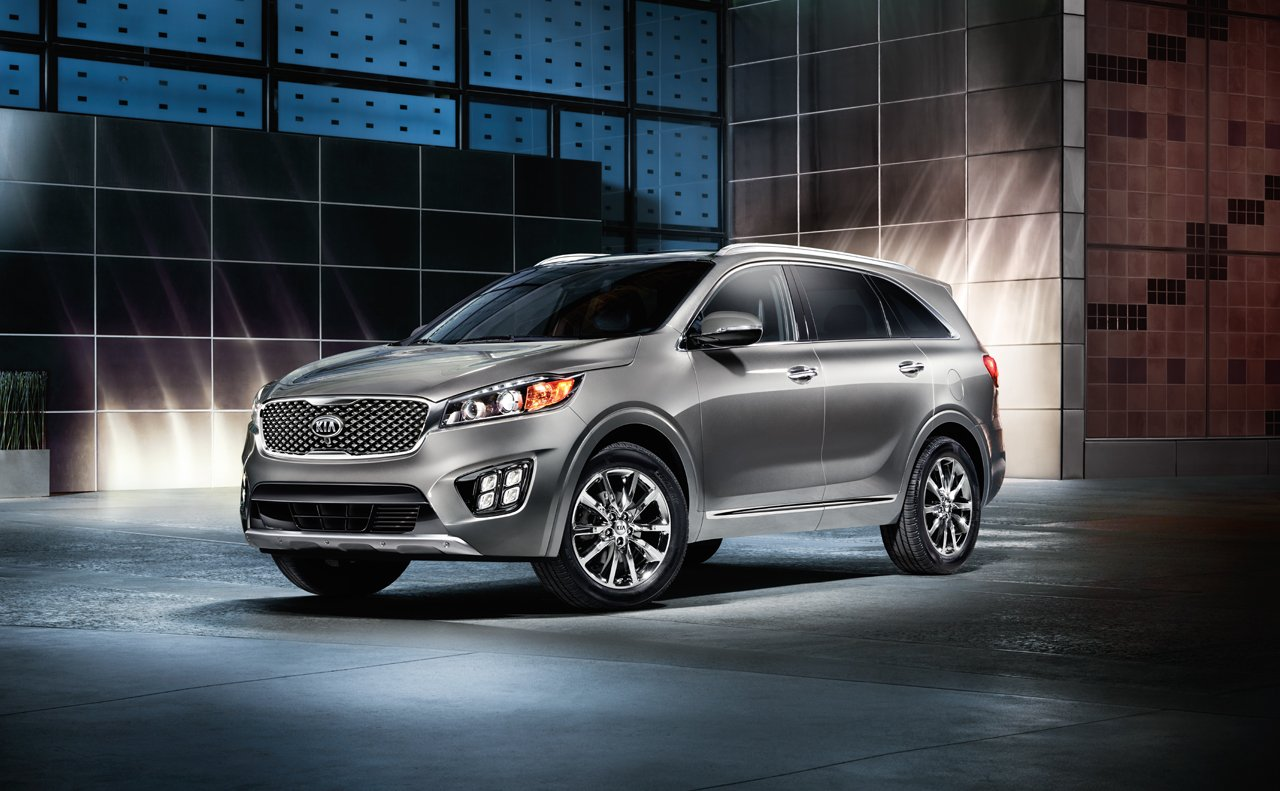 2018 Kia Sorento Gray Side Exterior