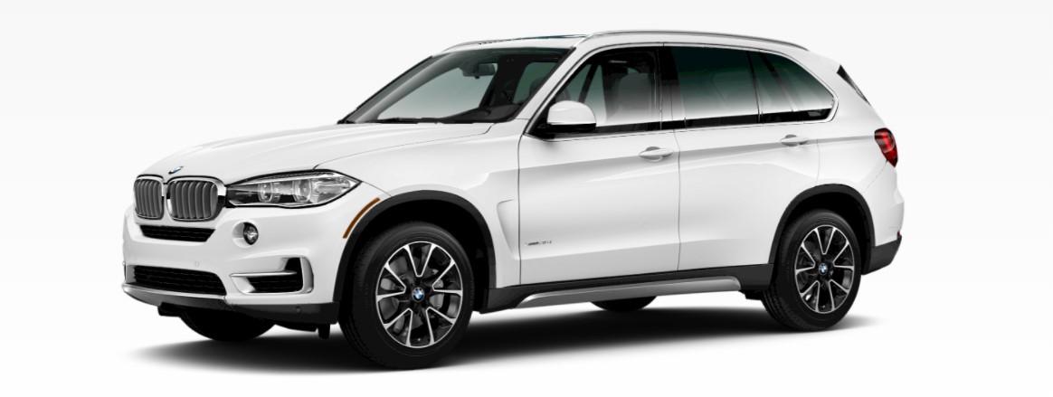 2018 BMW X5 Alpine White Front Exterior
