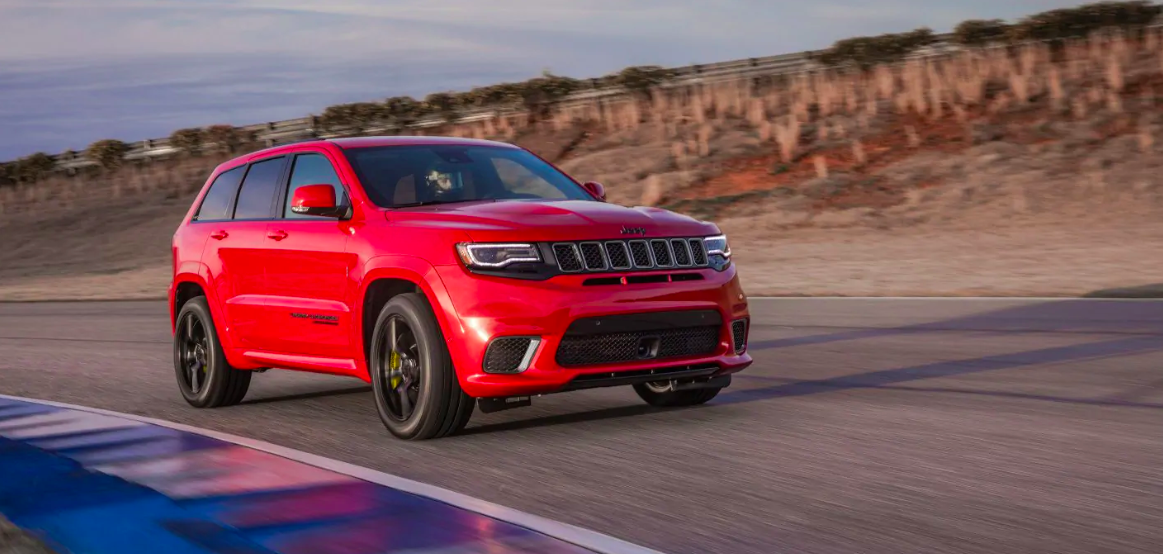2018 Jeep Grand Cherokee Red Exterior