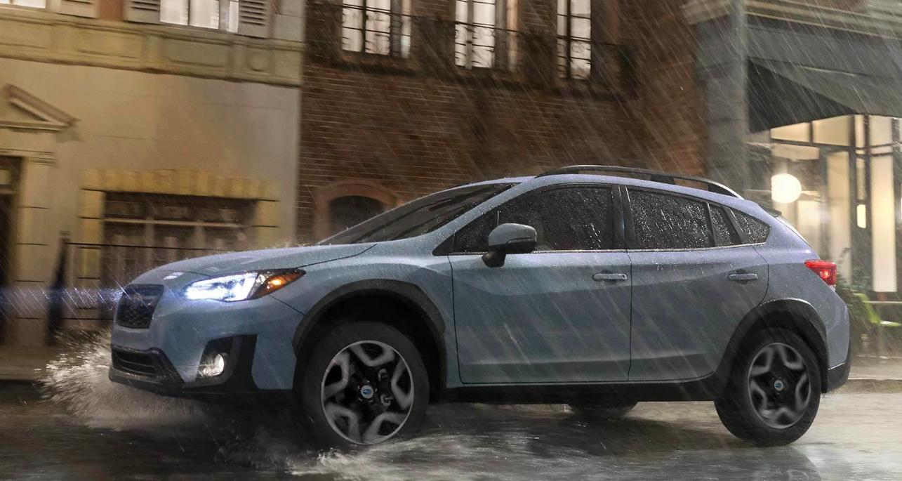 2019 Subaru Crosstrek Driving Rain Exterior