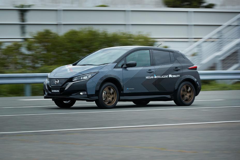2019 Nissan EV Test Car