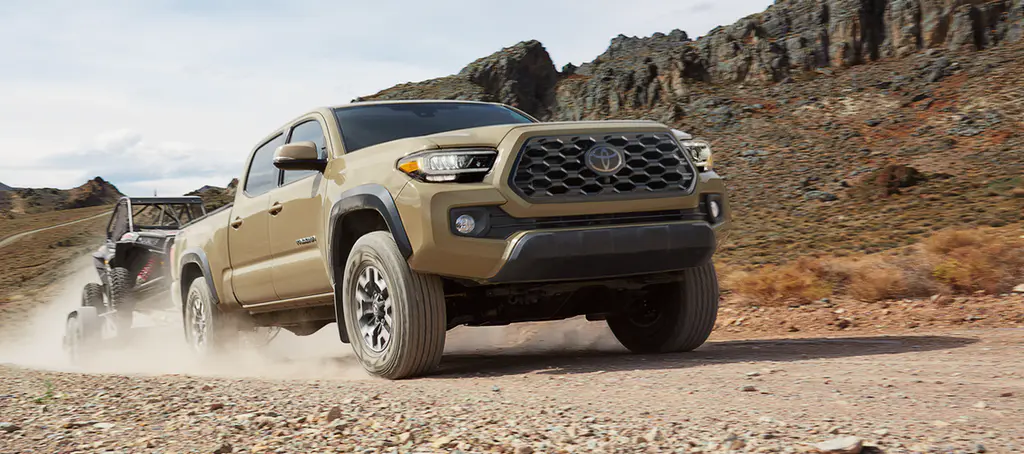 2020 Toyota Tacoma SR Front View Towing Exterior Picture