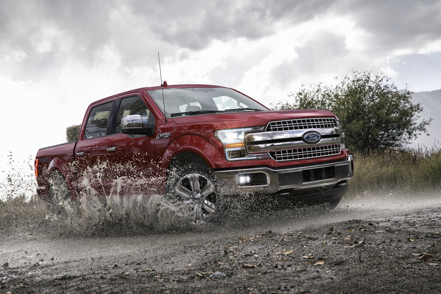 2020 Ford F-150 Front Red Exterior Picture Off-Road